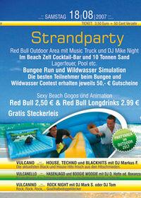 Vulcano Strand Party@Vulcano