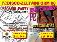 P2 Discozelt @ Inform 08 - Bacardi Party @P2 Discozelt - Inform Oberwart