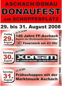 Donaufest am Schopperplatz@Aschach - Schopperplatz