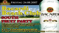 Bacardi Beach Club@A-Danceclub