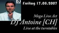 Live at the turntables: DJ ANTOINE@A-Danceclub