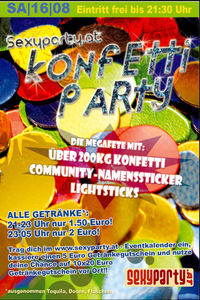 Konfetti Party@Excalibur