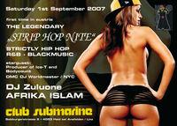 Austrian Premiere StripHop Clubtour@Disco Submarine