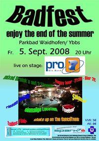 Badfest-enjoy the end of the summer@Freibad Waidhofen / Ybbs