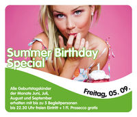 Summer Birthday Special@Evers