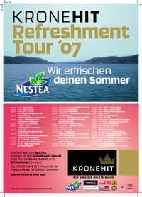 Kronehit Refreshment Tour 2007@Badearena Krems