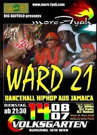 live in concert: WARD 21 (Jamaica)