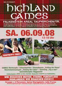 Highland Games@Falkenstein Areal