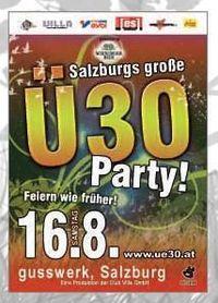 Salzburgs große Ü 30 Party
