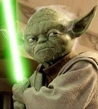 Gruppenavatar von Yoda ist der einzige, zu dem ich Meister sagen würde