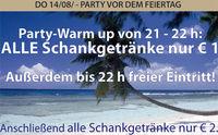 Party vor dem Feiertag