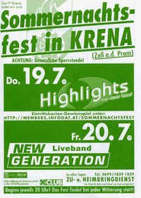 Sommernachtsfest Krena@Krena