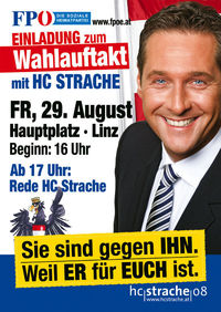 Wahlkampfauftakt Hauptplatz Linz@Hauptplatz Linz