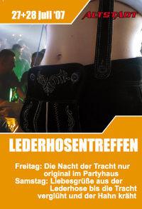 Lederhosentreffen@Altstadt reloaded