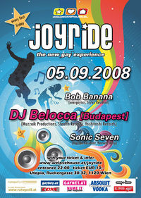 Joyride - The New GAY Experience@Club Utopia
