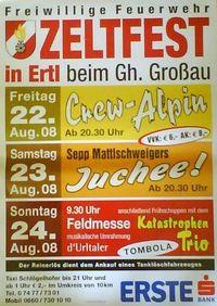 Zeltfest der FF Ertl@Gasthaus Großau