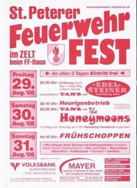 St.Peterer Feuerwehrfest@Marktplatz St.Peter/Au