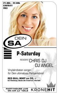 P-Saturday@Partyhouse Auhof