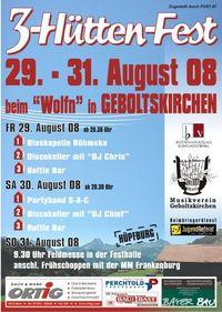 3-Hüttenfest@Berger/Geboltskirchen