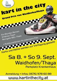 Kart in the City@Parkplatz Krankenhaus