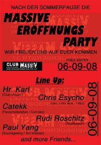 Massive Eröffnungs Party@Club Massiv