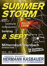 Summer Storm@Denkbauer-Stadl
