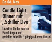 """Candle Light Dinner mit """"Schiller Live""""@Kinski"""