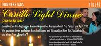 Candle Light Dinner@Kinski