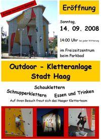 Eröffnung Kletterturm Haag@Eröffnung Kletterturm Haag