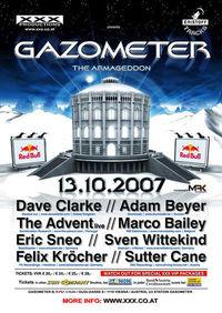 XXX Gazometer - The Armageddon