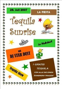 Tequila Sunrise Party@Rosenstatter Halle