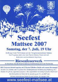 Seefest Mattsee@Mattsee