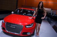 Audi Fahrer sehen einfach besser aus : )