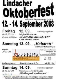 Lindacher Oktoberfest@FF Lindach