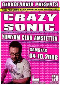 Gekkofabrik @ YumYum mit Crazy Sonic@Yum Yum - Club