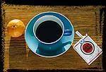 Frühstück Royal - Kaffe und Zigarette