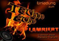 Techno Echo - Flambiert@Pfarrkeller Thalheim