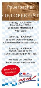 Peuerbacher Oktoberfest@Wirte GesBR