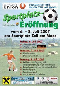 Somerfest der Union Zell am Moos@Sportplatz Zell am Moo