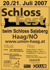 Haager Schlossfest´07@beim Schloss Salaberg