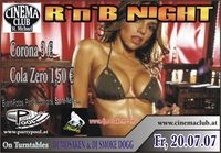 R´N´B Night mit DJ Mosaken@Cinema Club