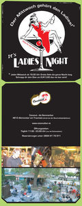 Ladies Night mit Grillabend & Live Musik@Coconut