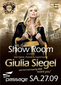 The Exclusive Show Room - Giulia Siegel@Babenberger Passage