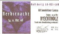Herbstnacht@Gasthaus Sonnleitner