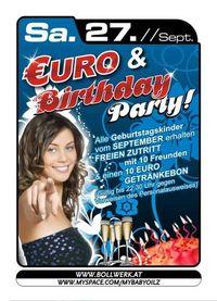 Euro & Birthday Party@Baby'O
