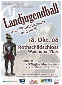 Landjugendball Bezirk Waidhofen/Ybbs@Rothschildschloss