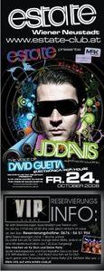 JD Davis the voice of David Guetta@Club Estate