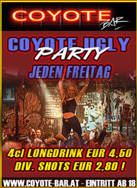 Coyote Ugly Party@Coyote-Bar