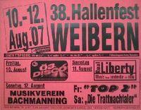 38. Hallenfest Weibern@Feuerwehrhalle Weibern