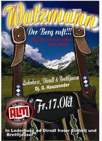 Watzmann - Der Berg ruft@Almbar